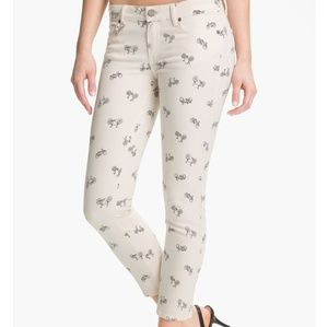 PAIGE Kylie Cropped Retro Cruiser Bicycle Pants